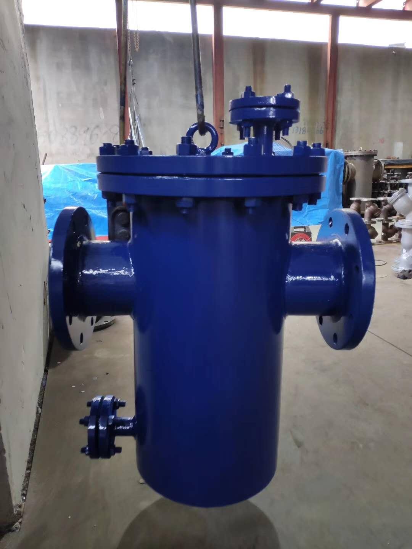 碳钢蓝式过滤器DN50