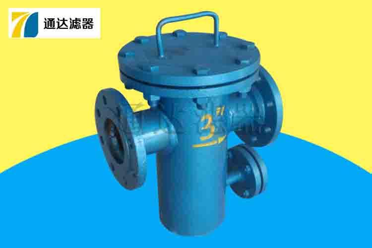 冷却水篮式过滤器