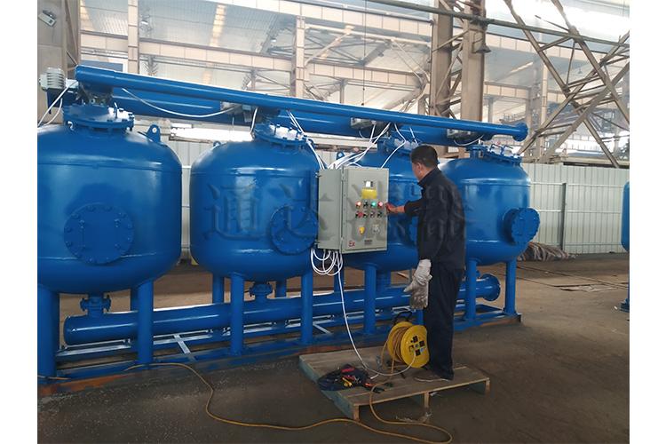 LFQ-1600四罐撬装浅层砂过滤器