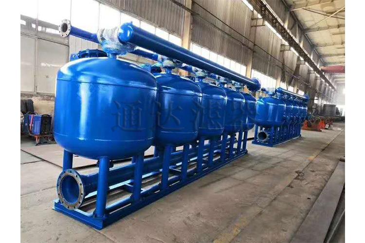 电力行业循环水过滤器预处理过滤器石英砂过