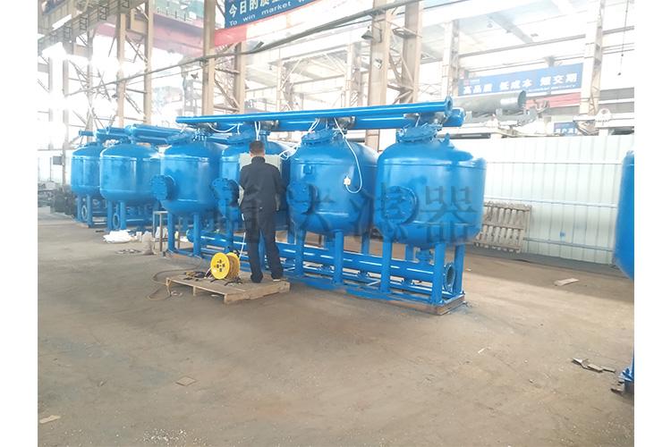 冷却水循环过滤浅层砂过滤器