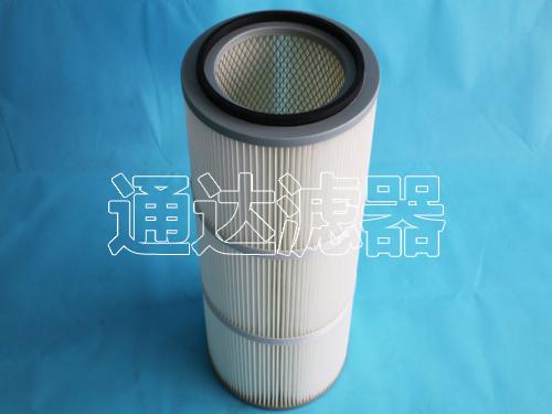 PTFE聚酯覆膜空气滤筒