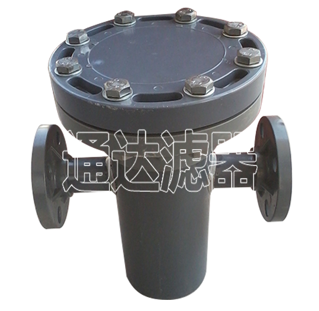 DN40塑胶篮式过滤器