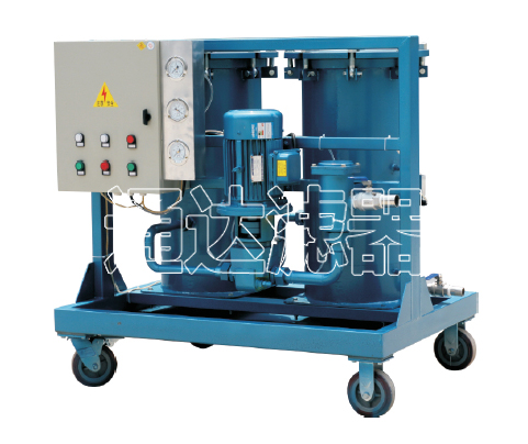 LYC-100G高固含量油滤油机