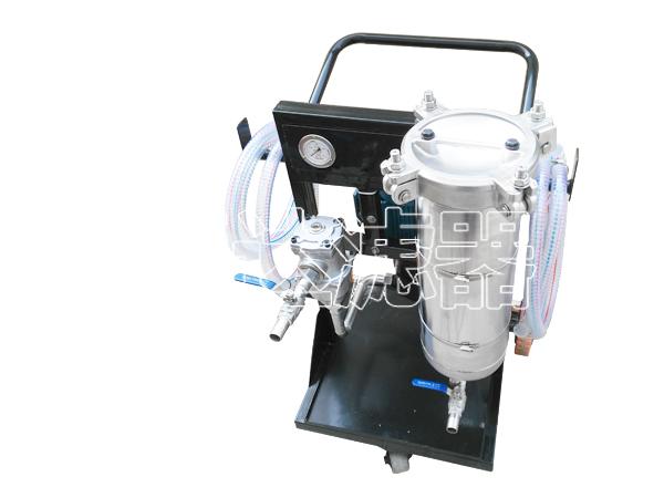 过滤水乙二醇不锈钢罐体滤油机