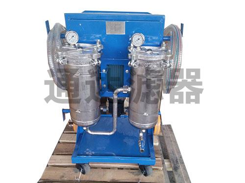 LYC-100B系列不锈钢防腐蚀滤油机