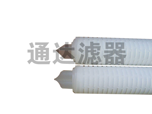 <b>聚丙烯接头式PP折叠滤芯</b>