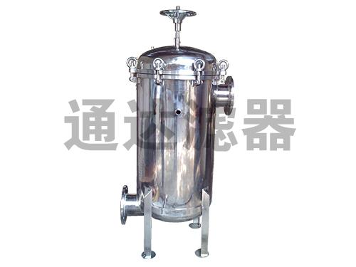 <b>不锈钢工业水处理袋式过滤器</b>