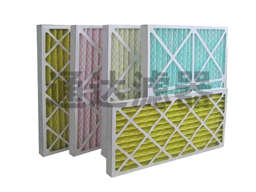 <b>防水纸板纸框空气过滤器</b>
