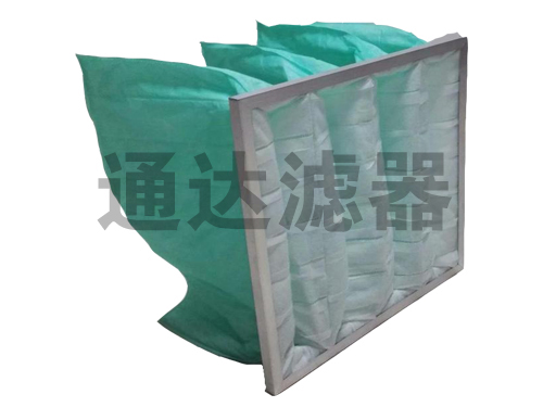制药行业用中效袋式空气过滤器