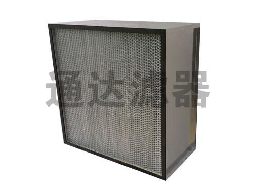 有隔板耐高温空气过滤器