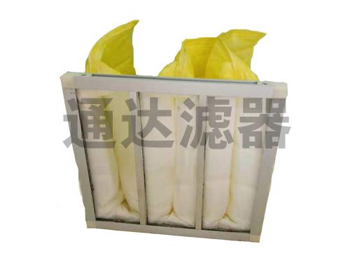 多袋式F8黄色中效空气过滤器
