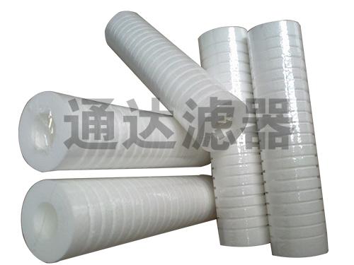 <b>沟槽结构20寸PP棉滤芯</b>