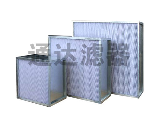 双面护网H14高效空气过滤器