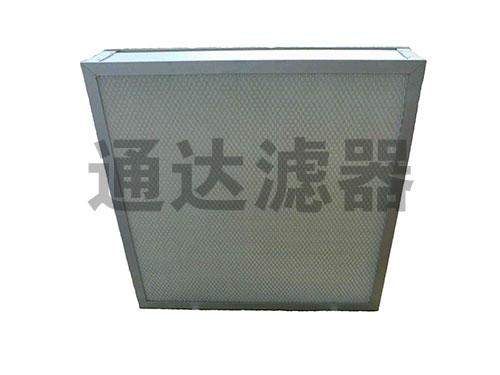 <b>钢网喷塑高效空气过滤器230*230*110</b>