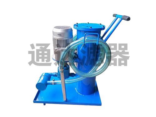 <b>LUC-100手推式精细滤油机</b>