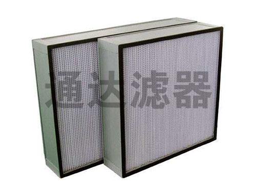 容尘量大高效空气过滤器