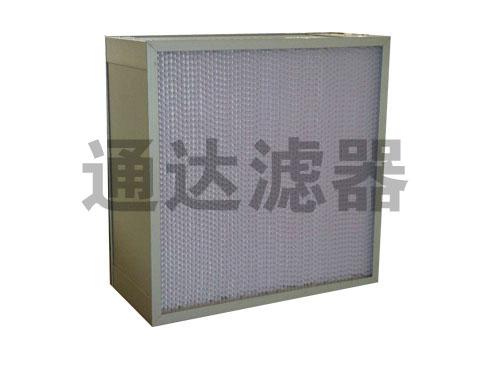 <b>容尘量大铝合金边框高效空气过滤器</b>