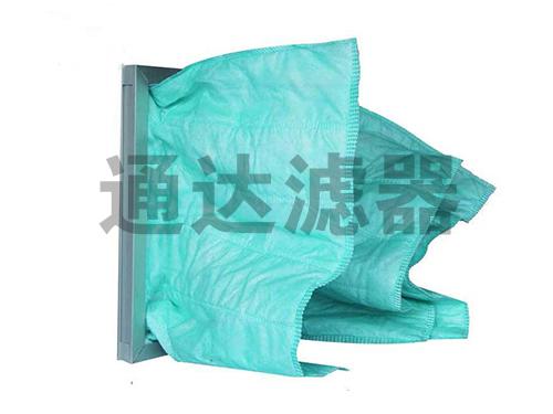 <b>F6绿色三袋中效空气过滤器</b>