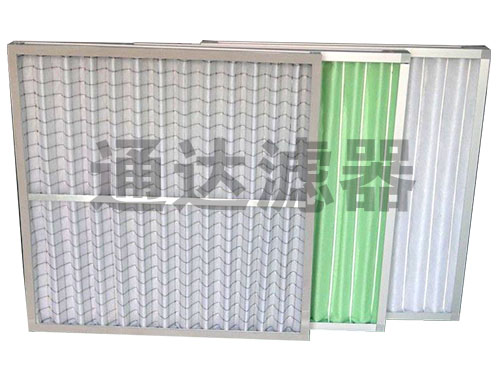 电子厂出风系统板式初效过滤器