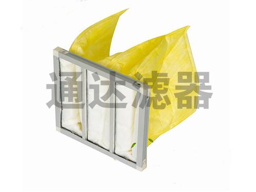 592*490*381铝合金边框中效空气过滤器