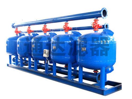 化肥厂冷却水循环过滤浅层砂过滤器