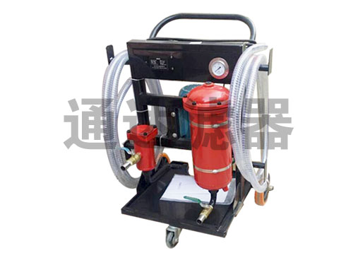 LF-20带加热高粘度滤油机