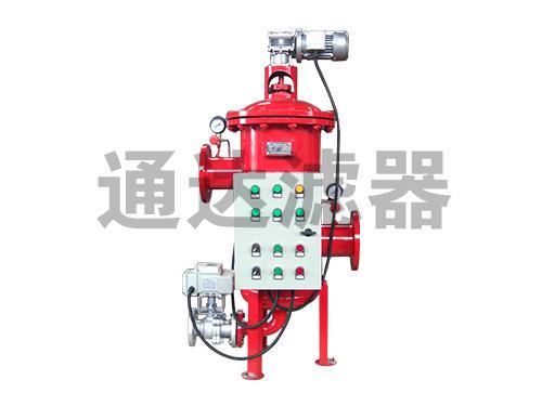 PLC控制全自动自清洗过滤器