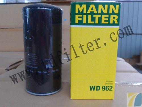 wd962曼牌机油滤清器由内部的过滤芯和坚硬的金属