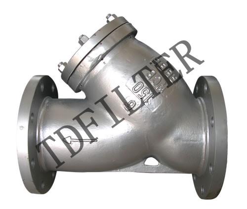 该过滤器具有结构先进,阻力小,排污方便等特点.适用介质可为水,油,气.
