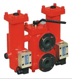 SRLF-330*10P双筒回油管路过滤器
