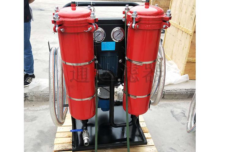 LYC-B三级过滤便移式高精度滤油机