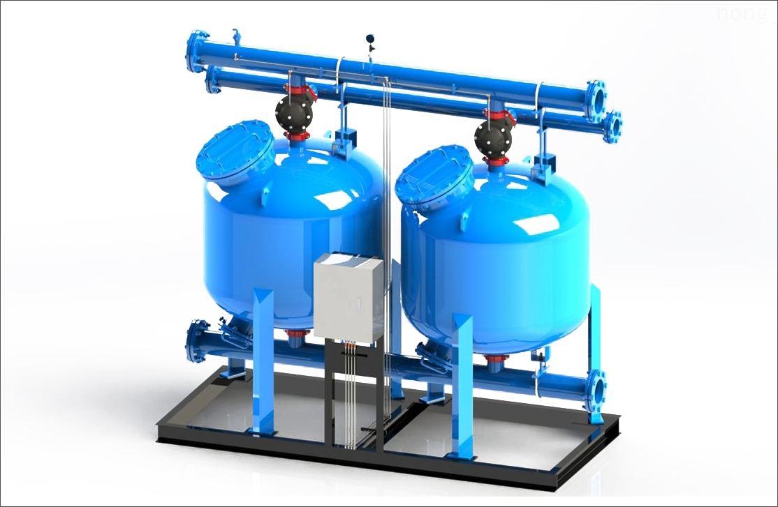 工业循环水旁滤器石英砂过滤器